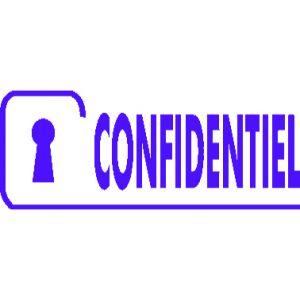 image emprunte confidentiel