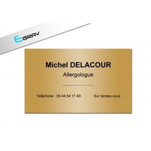plaque pro Or 200mm par 200 mm