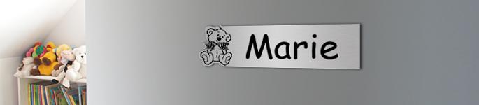 plaque prenom chambre enfant